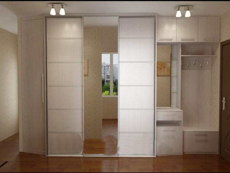 Шкаф в длинную прихожую фото дизайн идеи